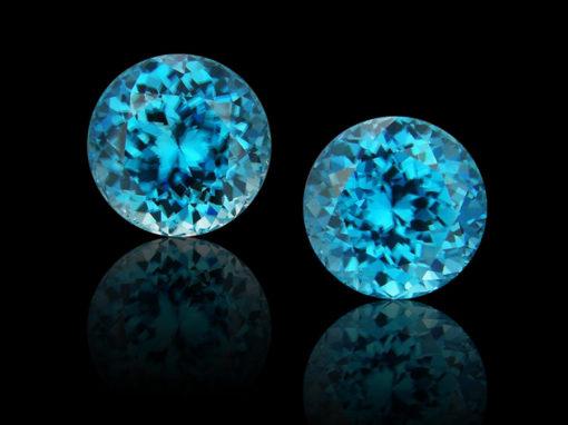 Zircon, Blue