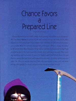 chance-favors-a-prepared-line