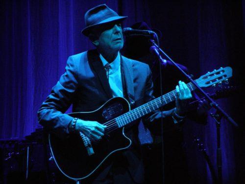 Leonard Cohen in concert