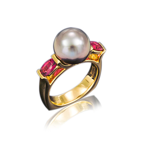 """Spinel """"Pearl Gate"""" Ring"""