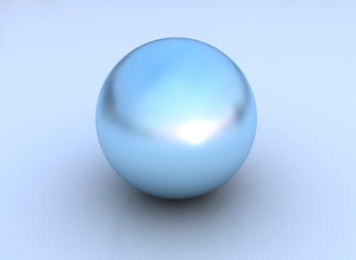Blue Pearl - Blue Tanzanite Gold Earrings