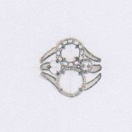 Cynthia Renee BYOJ Diamond Gold Ring Sketch