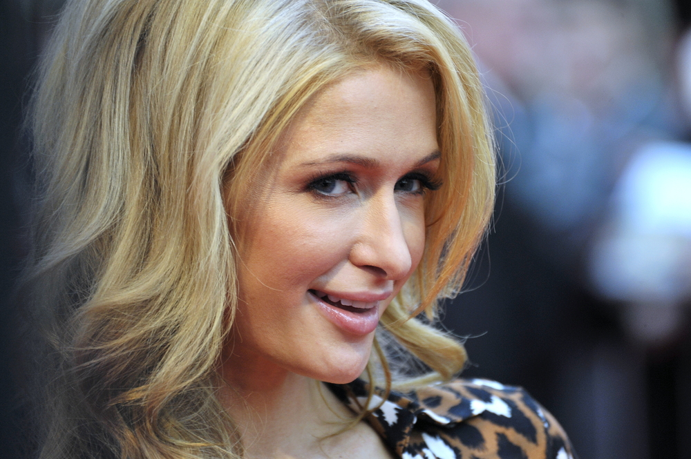Shutterstock Paris Hilton