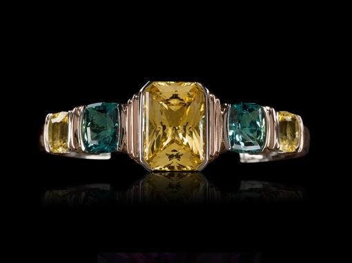 Sapphire, Yellow