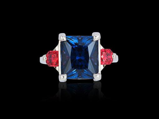 Spinel, Blue