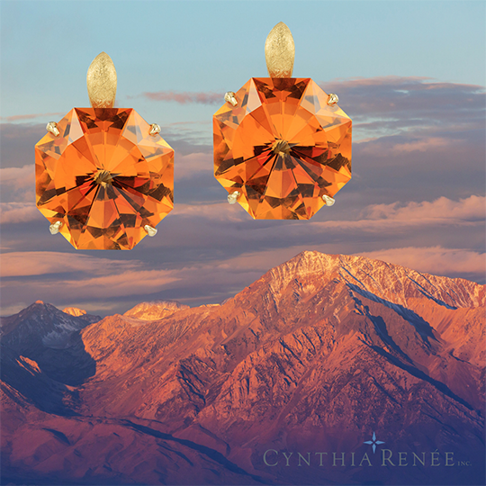 custom-design-Citrine-Earrings