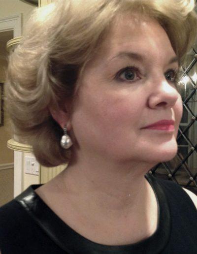 Custom designed earrings by Cynthia Renee