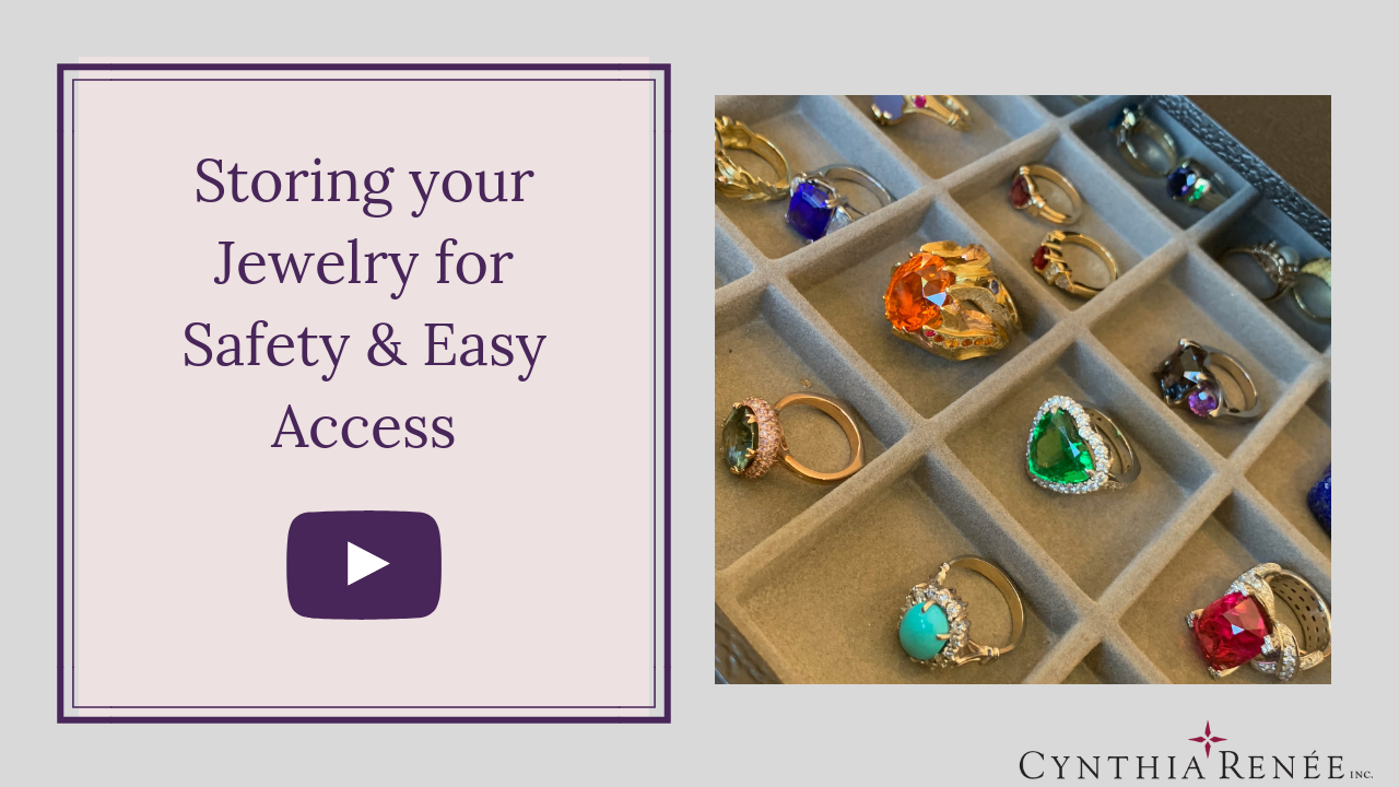 YouTube Thumbnails Storing your Jewelry for Safety & Easy