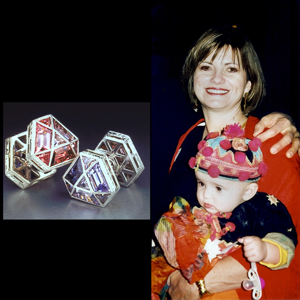 Jewelry-designer-Cynthia-Renee-WITH-HER-FIRSTBORN