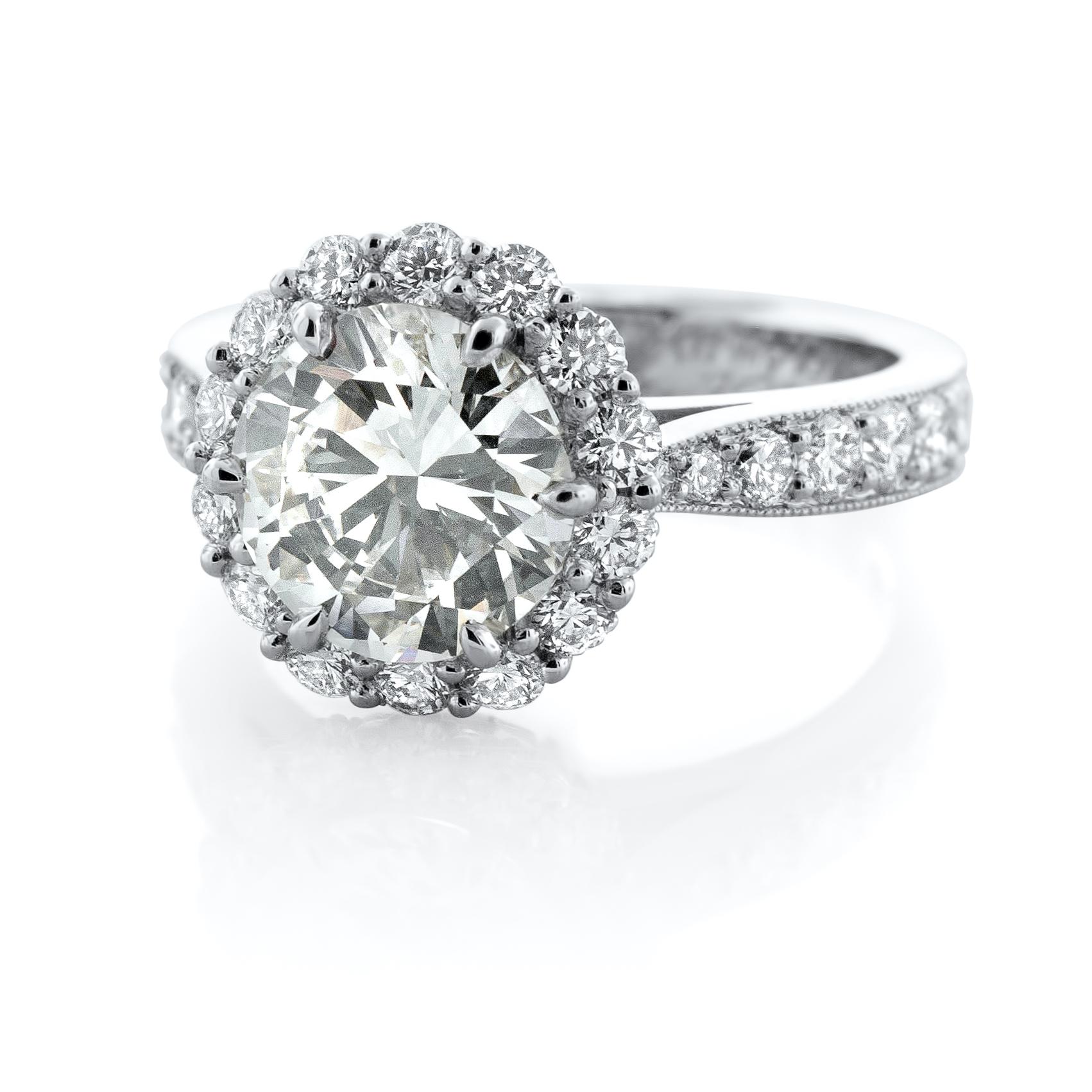 White Wedding ring