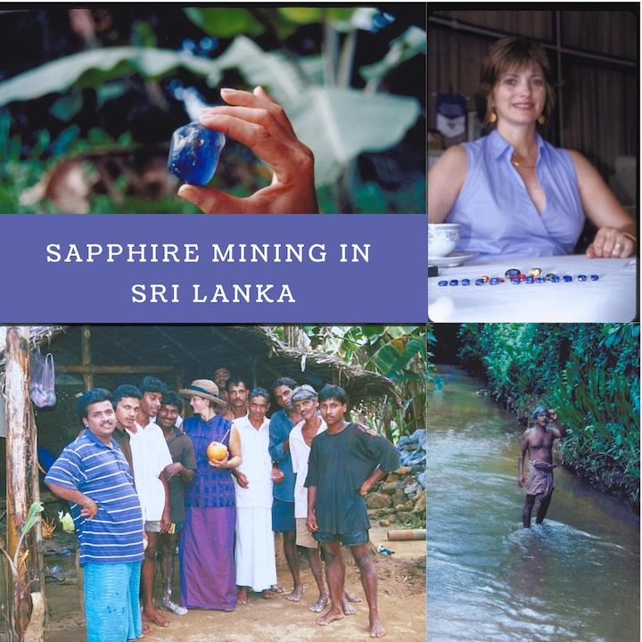 Sapphire mining in Sri Lanka