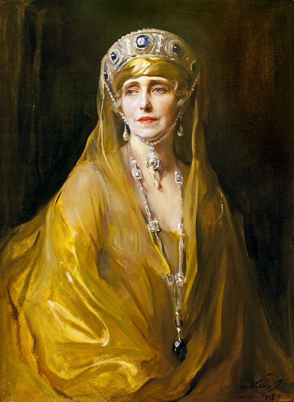 Painting of Queen Marie of Romania
