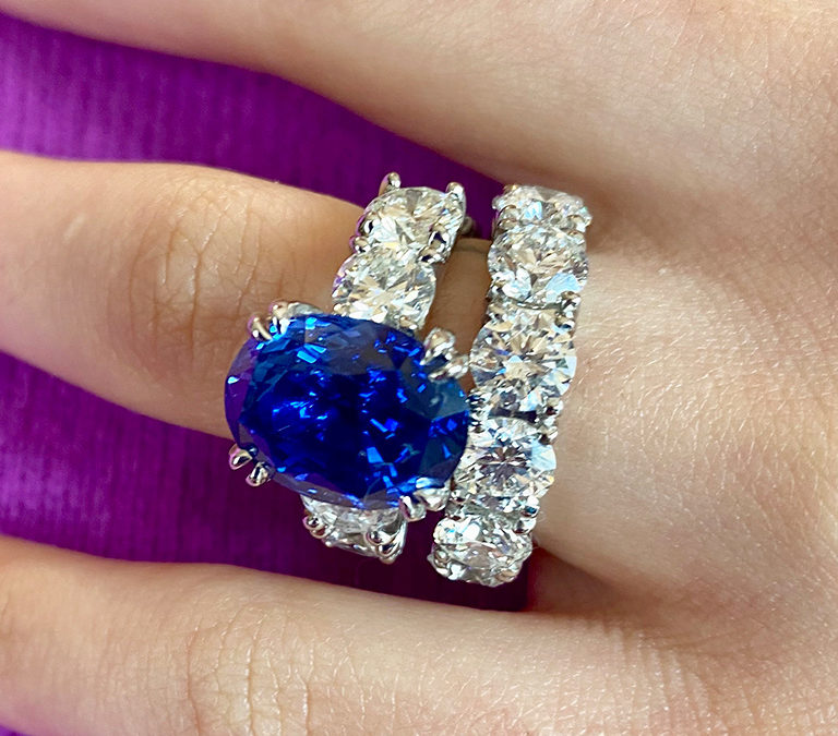 Sapphires for Queens and Conquerors