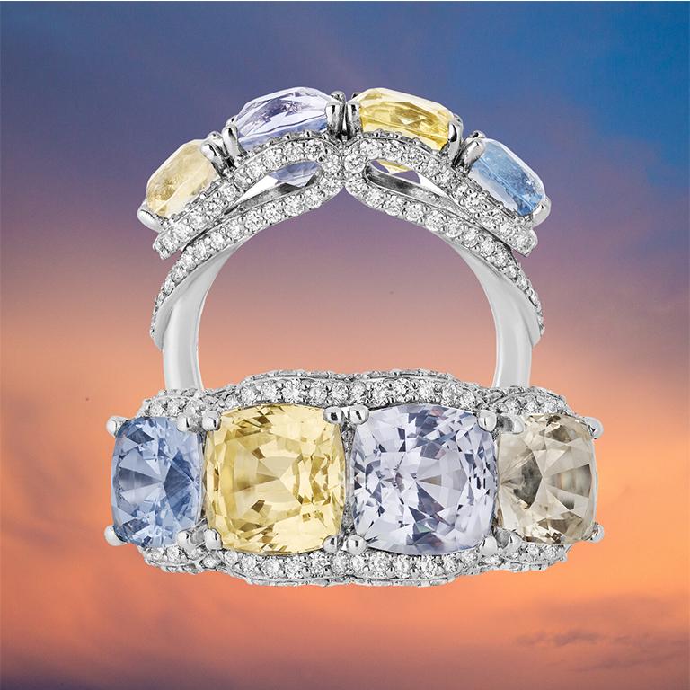 """Long Distance Legacy"" Cynthia Renee Full Custom Design Ring"