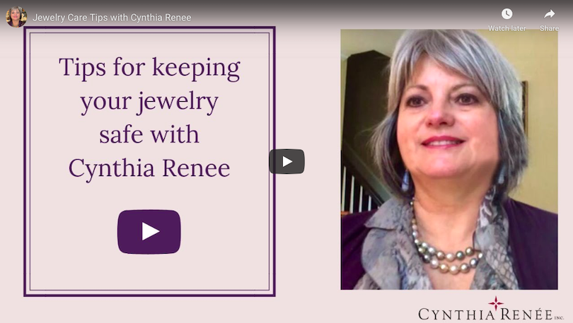 Jewelry Care Tips with Cynthia Renee