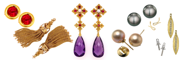Progressive Pairs: earring pieces