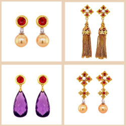 Mega Earring Looks from a Few Strategic Pieces