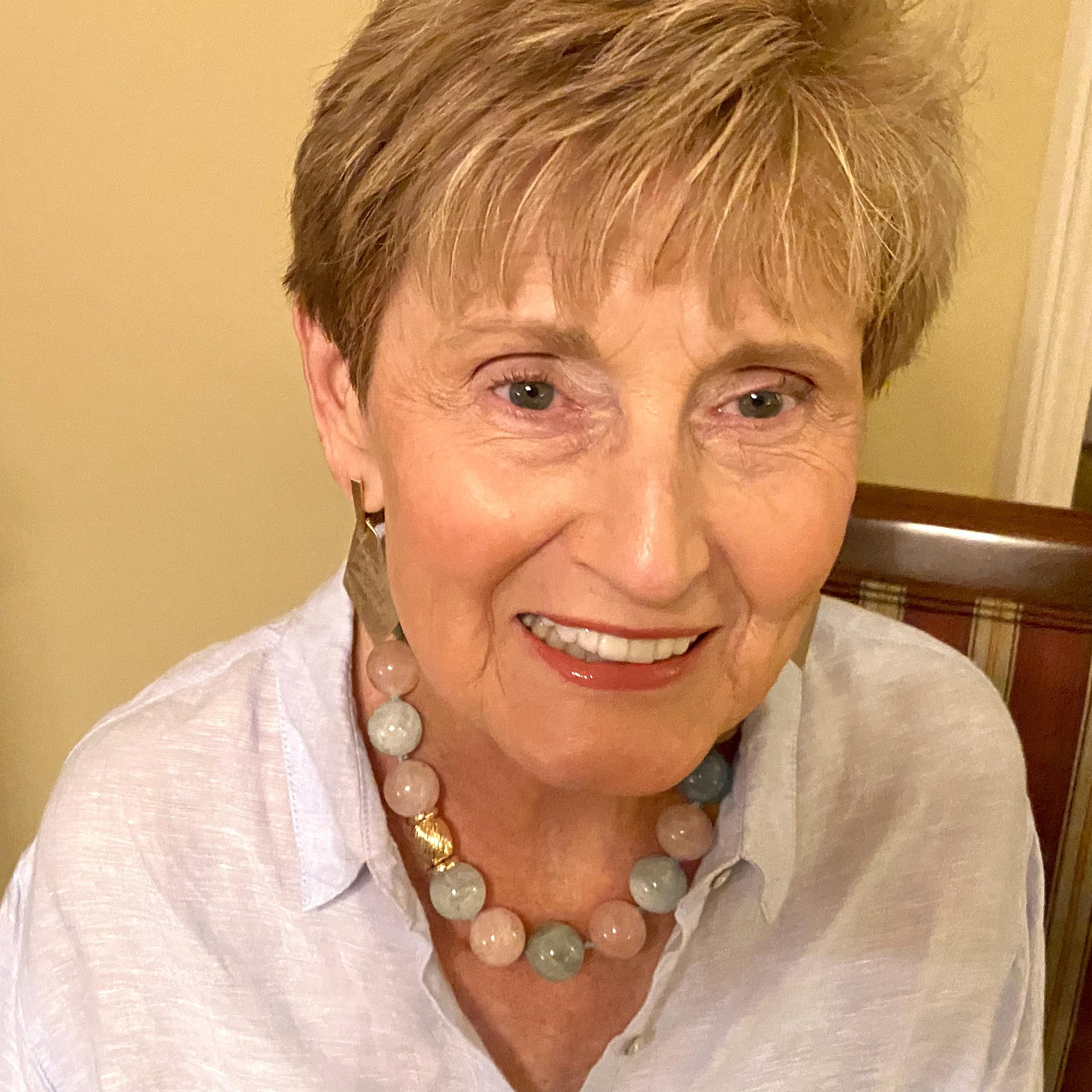 Carolyn's beryl bead necklace