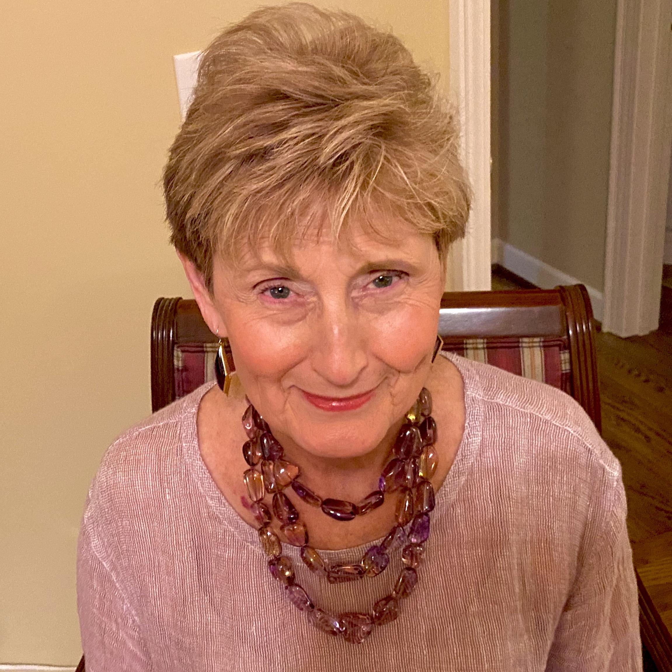 Carolyn's Ametrine beads