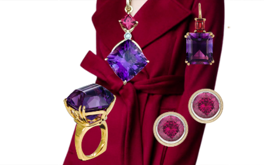 Purple Reigns: How to Wear Purple Jewels and Clothing