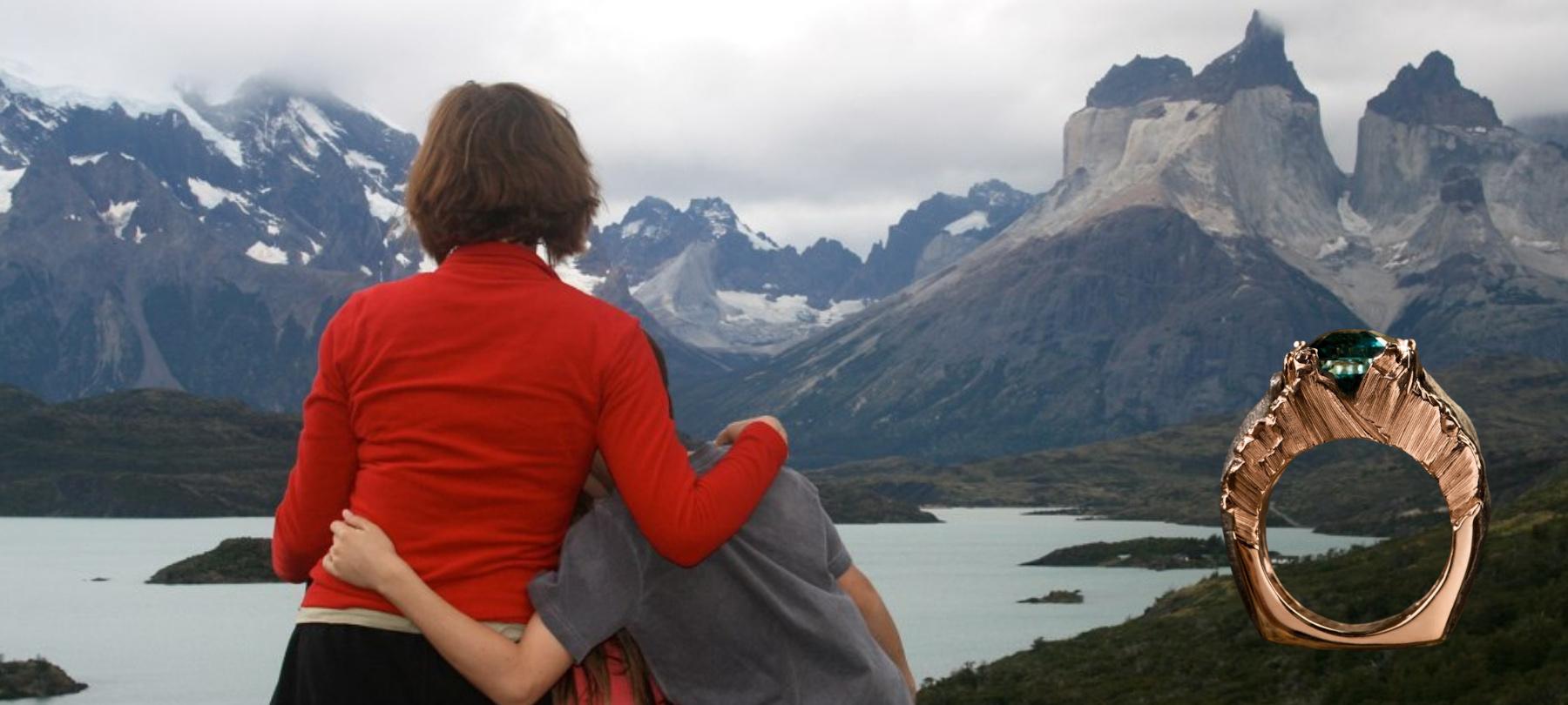 """A Family Affair blog. Cynthia Renée""""s """"Torres de Paine"""" ring"""