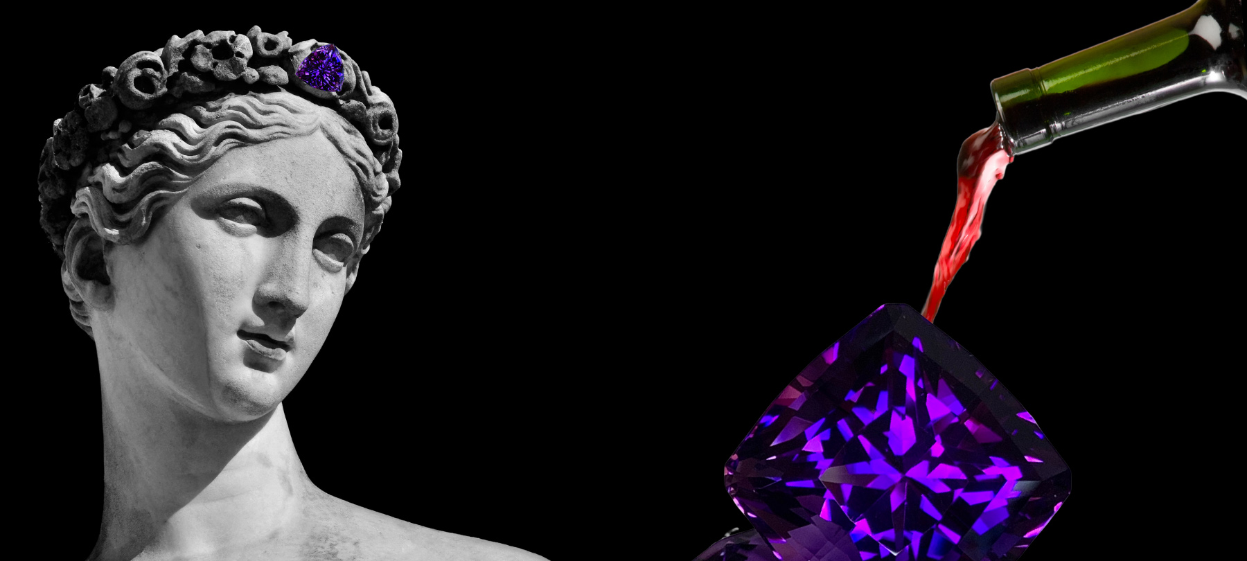 "Cynthia Renée""s blog: ""The Sobering Story of Amethyst and Bacchus"""