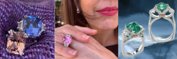 """""""Is Pink the Navy Blue of India?"""", by jewelry designer Cynthia Renée"""