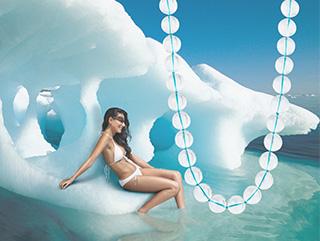 Jewelry Design Cynthia Renée's Bead Necklace~Rock Crystal.